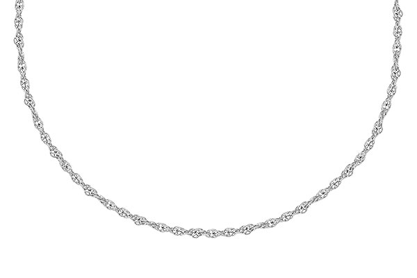 A327-70559: 1.5MM 14KT 18IN GOLD ROPE CHAIN WITH LOBSTER CLASP
