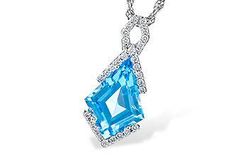 C327-66004: NECK 2.40 BLUE TOPAZ 2.53 TGW