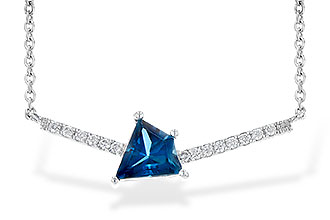 D244-97831: NECK .87 LONDON BLUE TOPAZ .95 TGW