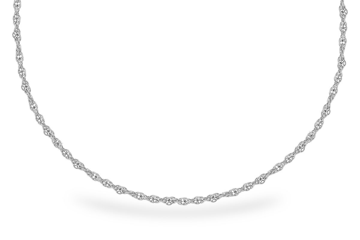 D327-70567: 1.5MM 14KT 22IN GOLD ROPE CHAIN WITH LOBSTER CLASP