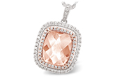 E243-13313: NECK 4.20 MORGANITE 4.66 TGW
