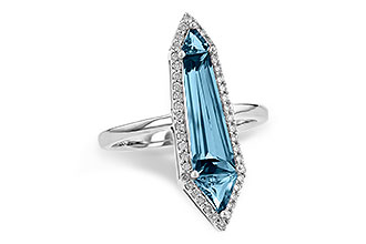 E244-92404: LDS RG 2.20 LONDON BLUE TOPAZ 2.41 TGW