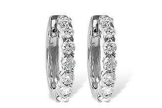 K055-85103: EARRINGS 1.00 CT TW